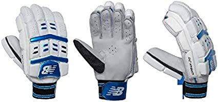 Amazon.com : NB DC Hybrid Batting Cricket Gloves Right Hand ...