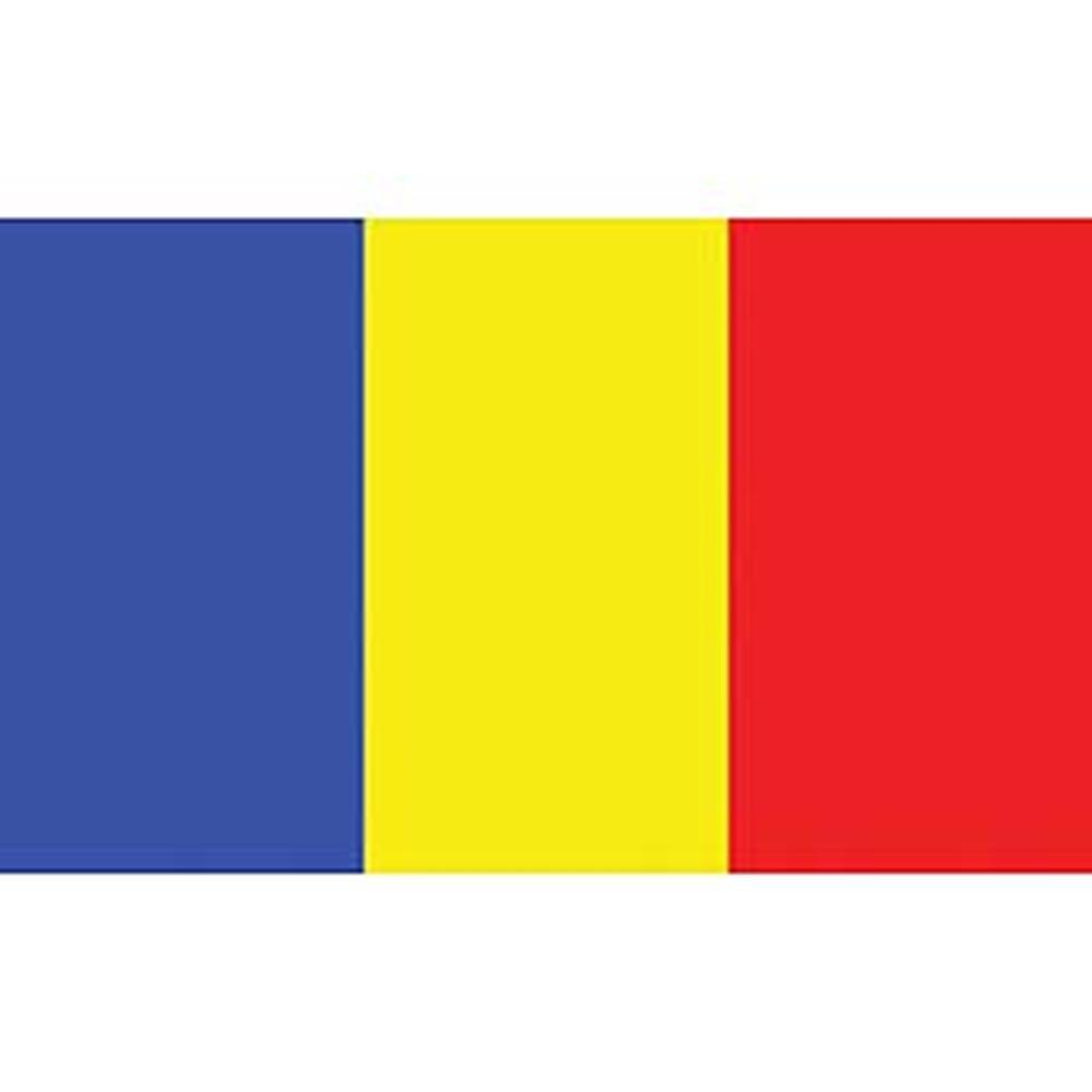 12in x 18in EagleEmblems F8175 Flag-Chad