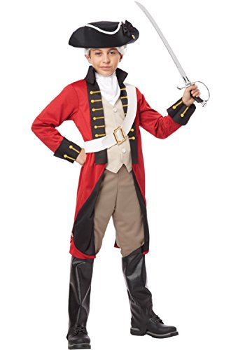 Redcoat Costumes (British Redcoat Soldier Child Costume)