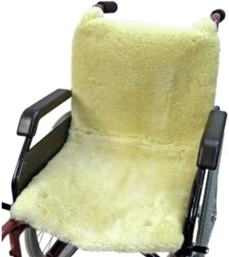 Kaiser Naturfellprodukte 903045 Rollstuhlauflage, 45 x 85, Medizin