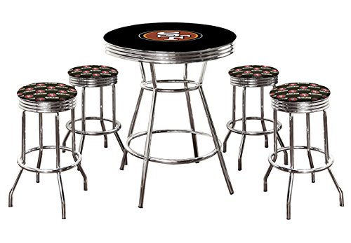 49ers Bar Stools San Francisco 49ers Bar Stool 49ers Bar