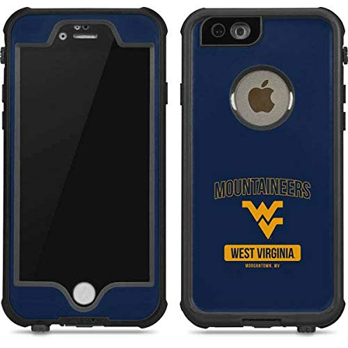 (Skinit West Virginia Mountaineers Logo iPhone 6/6s Waterproof Case - Officially Licensed Phone Case - Fully Submersible - Snow, Dirt, Water Protected iPhone 6/6s Cover)
