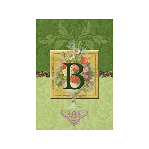 LVSURE Flag Classy Monogram B Garden flags decorative flags initial flags party flags 28 x 40 Inch Double Sided banner home flags Print house flags