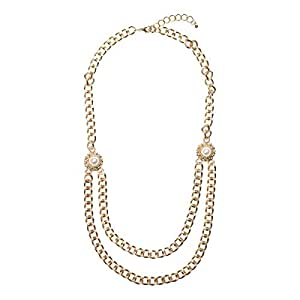Just Showoff Women's Alloy Chain Necklace