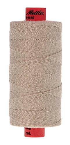 Mettler Metrosene Old Number 1155-0725 Poly Thread, 1000m/1094 yd, Fieldstone