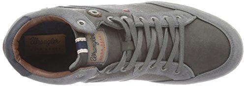 Wrangler Dallas Mid - Zapatillas Hombre Gris - Grau (56 Dk. Grey)