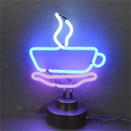 Neonetics Business Signs Coffee Cup Neon Sign Sculpture ()