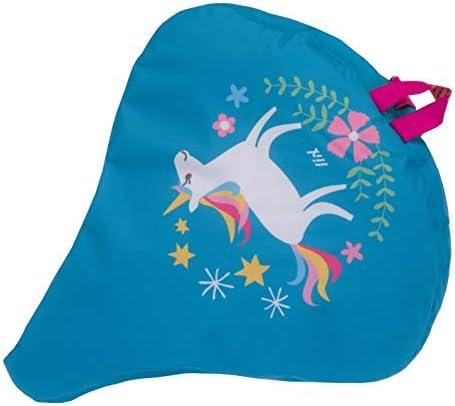 Liix Sattelbezug Happy Unicorn wasserdichte Einhorn Satteldecke f/ür alle Sattel geeignet