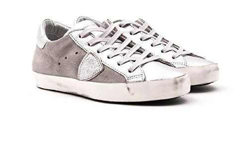 Model grige Donna CLLDXY01 Sneakers Philippe Argento 86SY6