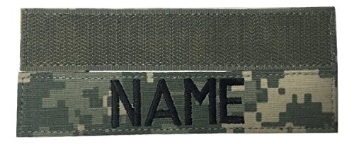- ACU Name Tape with Fastener, 1
