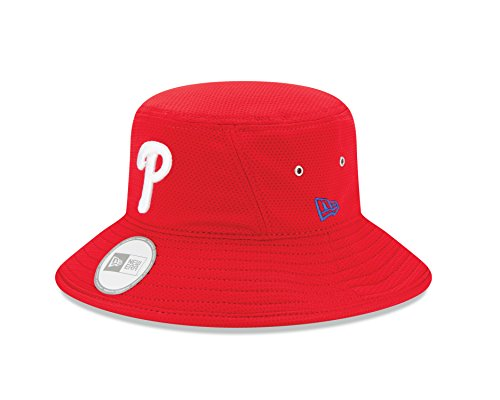 New Era MLB Philadelphia Phillies Team Bucket Redux Bucket Hat, One ()
