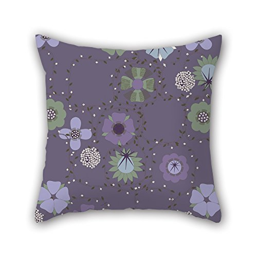 PILLO 20 X 20 Inches / 50 By 50 Cm Flower Pillow Shams ,2 Sides Ornament And Gift To Dinning Room,dance Room,deck Chair,kids,bar,pub