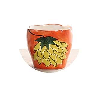 Bystar Zakka Ceramic Plants Pot Succulent Decorative Flower Planters Mini Flower Pots