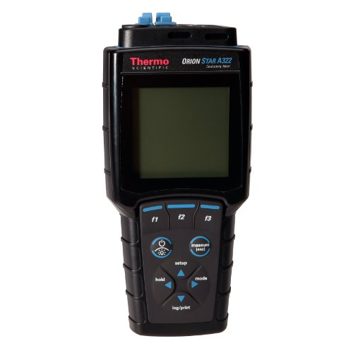 (Thermo Scientific Orion Star A322 Portable Conductivity/TDS/Resistivity/Salinity/Temperature Meter)