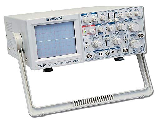 (B&K Precision 2125C Analog Oscilloscope, Delayed Sweep, 30 MHz Bandwidth)