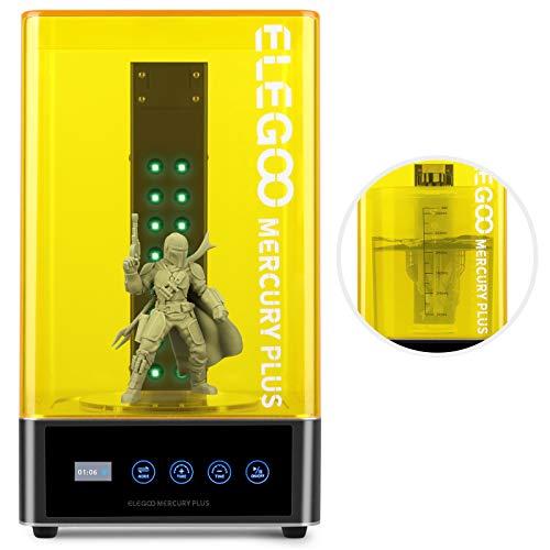ELEGOO Mercury Plus 2 in 1 Washing and Curing Machine for Mars Photon S Photon Mono LCD SLA DLP 3D Printed Models Resin…