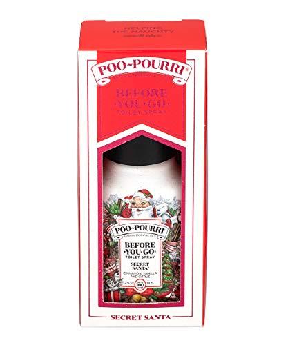Poo-Pourri Before-You-Go Toilet Spray Secret Santa Gift Box, 2 oz Bottle