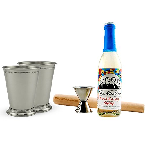 (Mint Julep Cocktail Starter Kit - 5 Pieces)