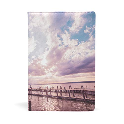 - Book Sox Austria Clouds Lake Lighthouse Book Covers ¨C Fits Most Hardcover Textbooks Up to 8.7 x 8 Adhesive Nylon Fabric School Book Jackets