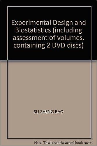 Experimental Design and Biostatistics (including assessment