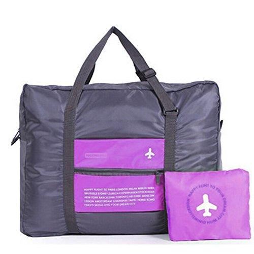 HEXIN Oversized Travel Tote Duffel Weekend Bag