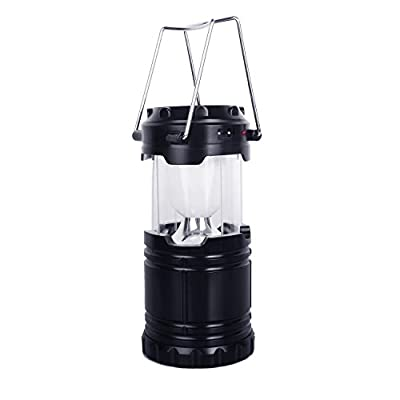 BZL Rechargeable LED Camping Lantern, Hiking Lantern, Solar Emergency Lantern