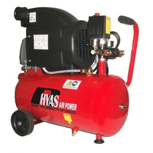 Rhyas 24L 7.3CFM Portable Air Compressor