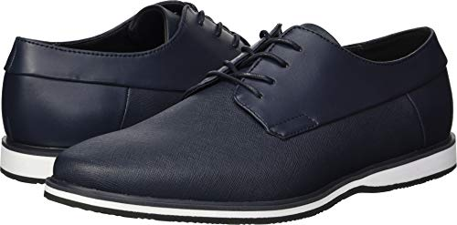 Calvin Klein Men's Wilfred Oxford Flat, Dark Navy, 10 M US