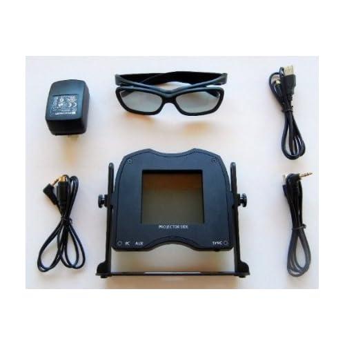 Volfoni SmartCrystal Pro Passive 3D Projection Kit for All Optoma 3D Ready DLP Link Projectors DS325,DS326,DS327,DS329,DS339,DS550,DS551,DW318,DW326e,DW339,DX326,DX327,DX329,DX339,DX346,DX5100, DX550,DX551,DX626,ES515,ES550,E