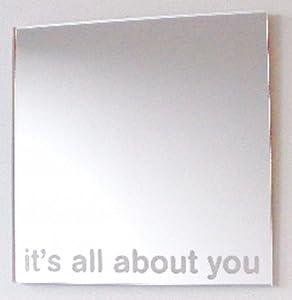 Les carreaux de mosaïque miroir carré Pack de 10-6 cm x 6 cm carré