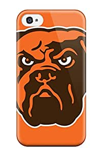 New Style 7030466K573936138 clevelandrowns NFL Sports & Colleges newest iPhone 4/4s cases