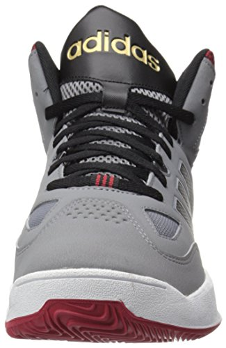 low priced 67dc9 a246a adidas Performance Mens Shoes  Cloudfoam Thunder Mid-m Basketball, Grey Black