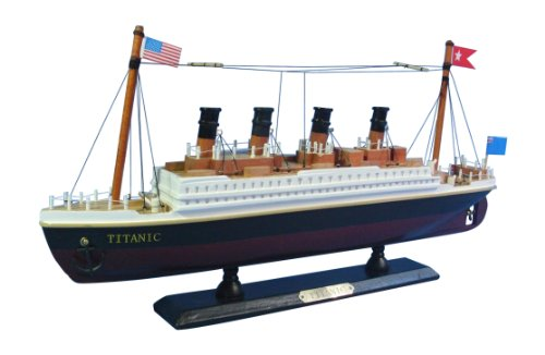 Hampton Nautical  RMS Titanic Cruise Ship, -