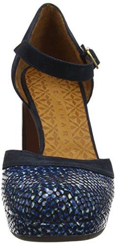 Blue Con ante Scarpe Alla Pizarra Blu Mihara dias Donna Dias Tisa32 Caviglia Chie Cinturino Pizarra Ctvqn