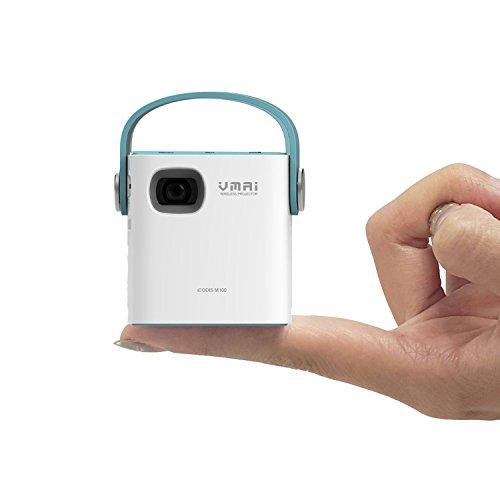 Vmai icodis m100 mobile wireless projector dlp pico home for Pico projector best buy