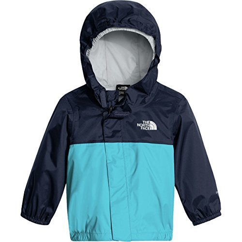 The North Face Infant Tailout Rain Jacket Cosmic Blue and Turquoise Blue - 24M