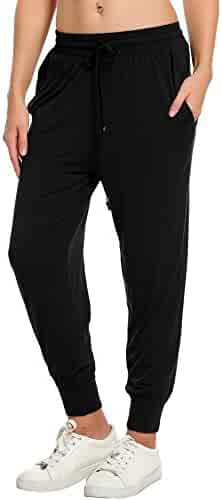 b94df62f17 IN VOLAND Women s Sweatpants Track Pants French Terry Yoga Joggers Lounge  Active Pants