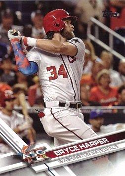Amazoncom 2017 Topps Update Us141 Bryce Harper Baseball