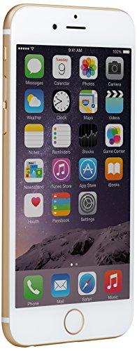 Apple iPhone 6 (GSM Unlocked), 16GB, Gold (Mobiles Phones Used)