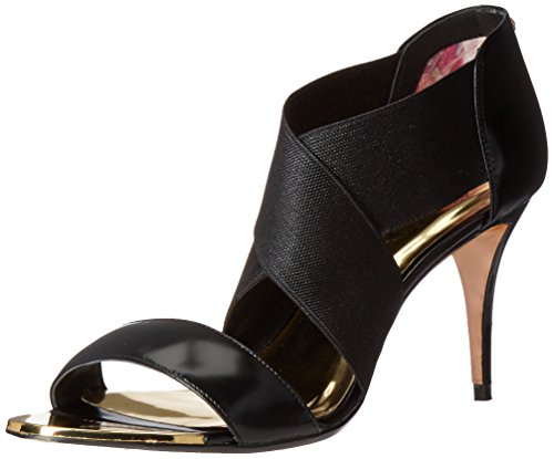 Image of Ted Baker Women's LENIYA LTHR AF Formal Shoe, Black, 6.5 M US