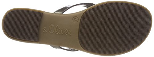 Infradito Donna pewter 27127 S oliver Argento pHgOxO