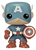 Funko POP Marvel: Captain America Sepia Tone 75th Anniversary Amazon Exclusive Action Figure