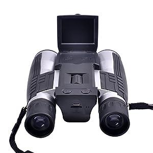 KINGEAR KG0012 Digital Camera Binoculars Full HD Digital Camera Spy Cameras Folding Prism Binoculars Camera