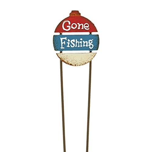 Miniature Fairy Garden Gone Fishing Sign - Gone Fishing Sign