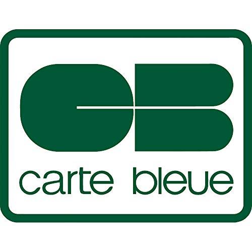 NBFU DECALS Logo Carte Bleue (Green) (Set of 2) Premium Waterproof Vinyl Decal Stickers for Laptop Phone Accessory Helmet CAR Window Bumper Mug Tuber Cup Door Wall Decoration