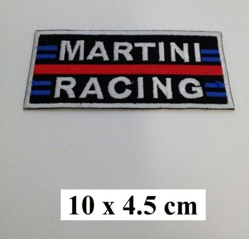 Martini Racing Porsche Vintage equipo Polo Blue logotipo bordado ...
