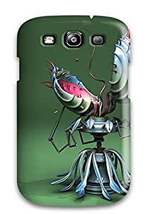 Galaxy S3 Abstract 3d Packs Print High Quality Tpu Gel Frame Case Cover