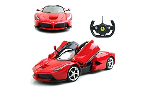Rastar 1 14 Scale Ferrari La Ferrari Laferrari Radio Remote Control Model Car R C Rtr Open Doors  Color May Vary