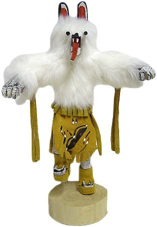 10 Navajo Bear Kachina Doll – Authentic Native American Gold-Tans