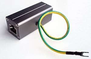 RiteAV - Outdoor Ethernet POE+ / RJ-45 Surge Protector (Shielded) for Thunder & Lightning Protection (Gigabyte)